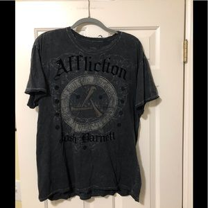 Affliction Josh Barnett designer style XL shirt